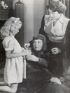 Daughter MaureenReagan, Jane, and Jacqueline DeWitt in It's a Great Feeling (1949)