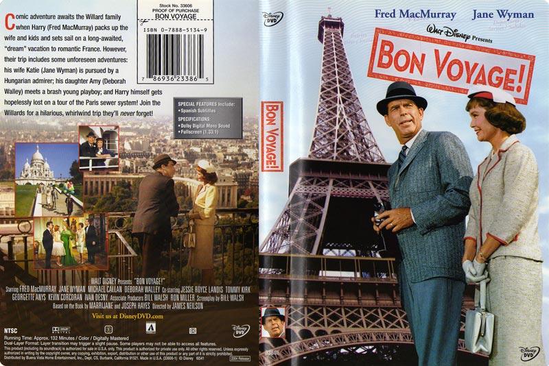 Bon Voyage Jane Wyman Posters Movie Details Artwork