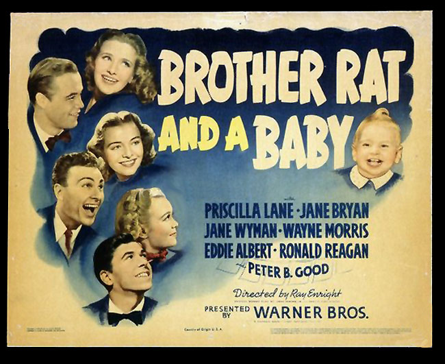 brother rat and a baby 1940 movie
