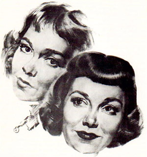 Jane Wyman drawing