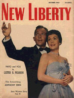 New Liberty cover with Jane and Bing Crosby
