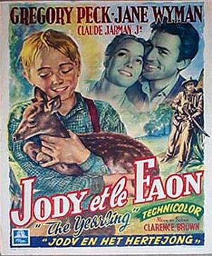 The Yearling - Jane Wyman - Posters, movie details, artwork
